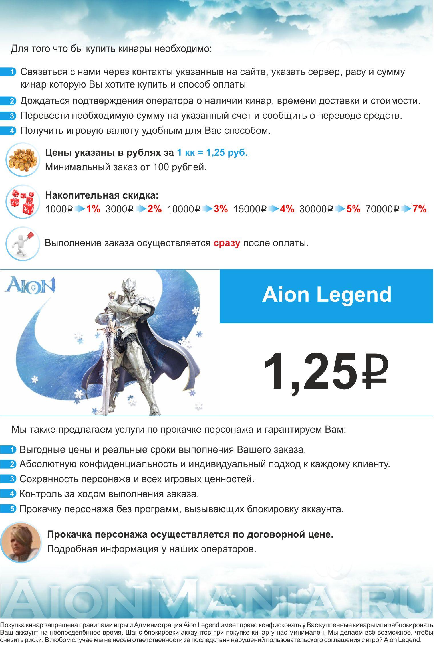 айон легенд125типа